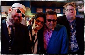 L-R: Dennie Carter, Artie Mondello, Jim Ivy, Nadeem Khan