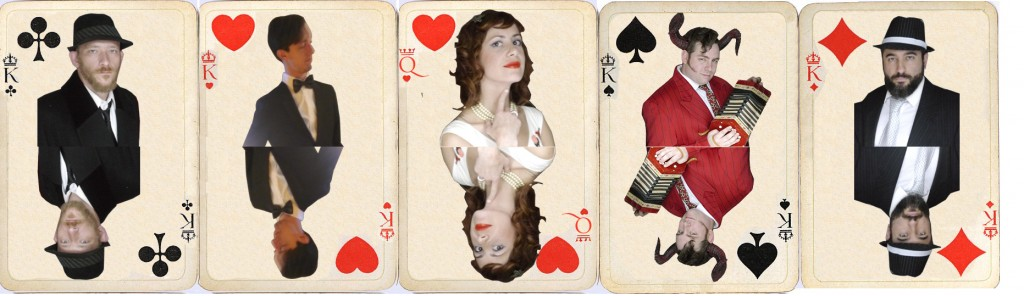 SEX BBQ playing cards by T.O. Lawrence