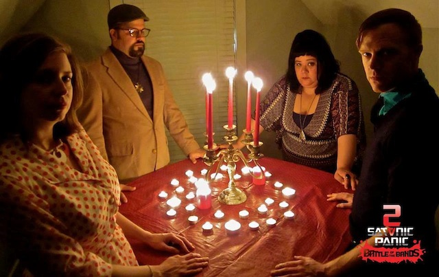 Satanists conspire via seance to bring down Satanic Panic.