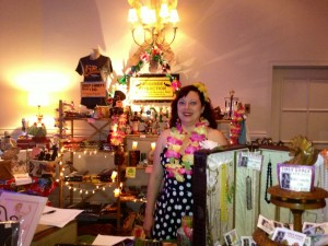 Tiki treasures abounded in the vendors' bazaar.