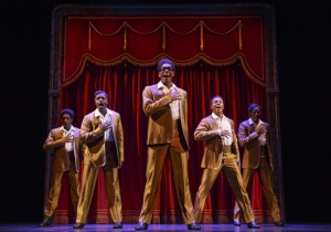 The Temptations MoTOWN THE MUSICAL First National Tour (c) Joan Marcus, 2014