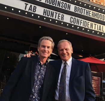 Tab Hunter and Allan Glaser.