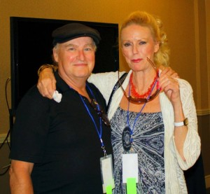 Jim Adams and Veronica Carlson