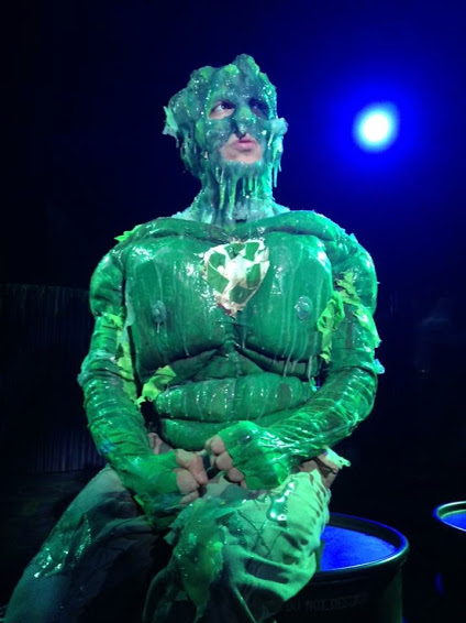 Kool Kat of the Week Nick Arapaglou as Toxie in Horizon Theatre's production of THE TOXIC AVENGER. Photo credit: Greg Mooney.