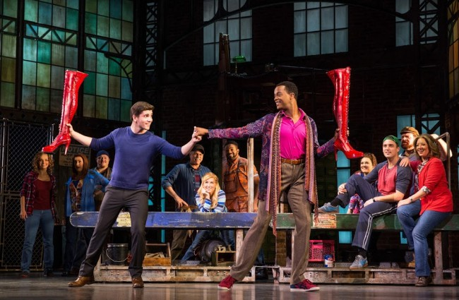 KINKY BOOTS on tour. Photo courtesy of Austin Northenor.