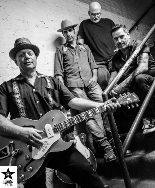 Photo by Sloan Carroll Rainwater (Top to Bottom: Dave Watkins, Johnny McGowan, Dave Weil, Steve Stone)
