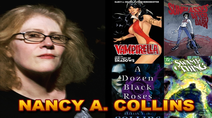Kool Kat of the Week: Rule-Bending and Award-Winning Author, Nancy A. Collins, Joins the Mayhem and Monster Madness at MONSTERAMA 2019