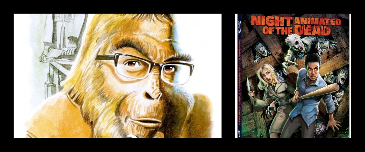 APES ON FILM: NIGHT OF THE ANIMATED DEAD: A Far Cry from Romero's Classic